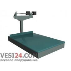Весы платформенные товарные механические ВП-100Ш13, 100кг / 0,1тонна